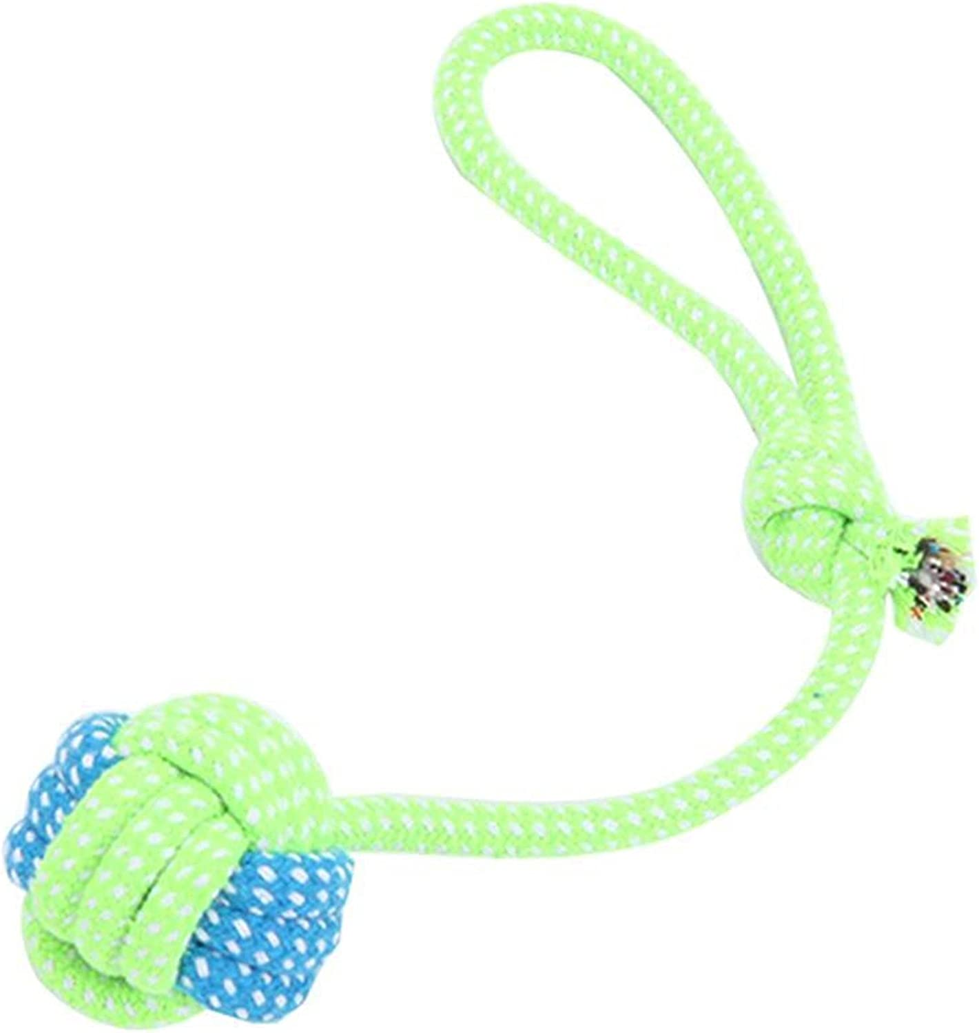 Direct store Max 72% OFF YSJJZDE Dog Toy Pet Rope Resistant Washable Ba Bite