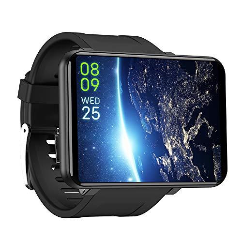 Famyfamy - Smartwatch LEMFO LEMT, Android 7.1, schermo da 2,8', 2700 mAh, SIM 4G, GPS, WiFi, MAH, fotocamera da 5 MP, funzione chiamate, cardiofrequenzimetro