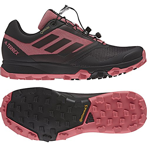 Adidas Terrex Trailmaker GTX W, Zapatillas de Senderismo para Mujer, Varios Colores (Negbas/Grivis/Rostac), 41 1/3 EU