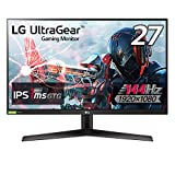 【Amazon.co.jp 限定】LG フレームレス ゲーミングモニター UltraGear 27GN600-B 27インチ/フルHD/IPS/144Hz/1ms(GtoG)/G-SYNC Compatible,FreeSync Premium/HDR/HDMI×2,DP