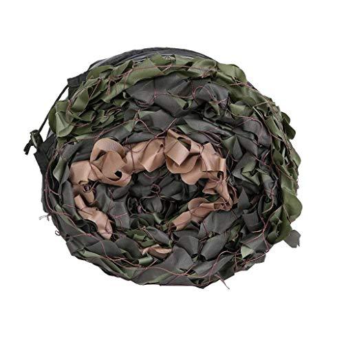 Carl Artbay Rede de sombreamento e rede de malha de camuflagem da floresta para acampamento, caça, tiro, proteção solar, rede militar, rede de caça, persiana leve (tamanho : 2 x 3 m)