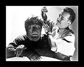 8 x 10 All Wood Framed Photo Chaney Jr., Lon Frankenstein Meets The Wolf Man 2
