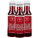Cherry Bay Orchards Montmorency Tart Cherry Juice - (3 pack - 12oz Bottles) - 100% Domestic, All...
