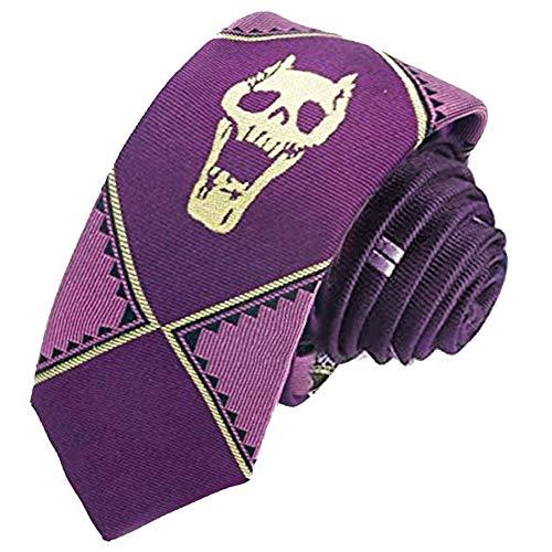 YuDanae JoJos Bizarre Adventure Kira Yoshikage - Corbata de seda para disfraz de cosplay