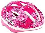 Volare Kids Casco Deluxe para Patines de Bicicleta, Infantil, Rosa, Pink White