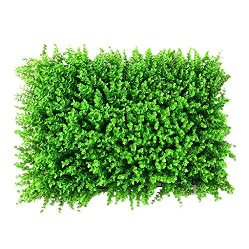 PING- Artificiel Haie Plante Panneau Mur, Taille Des Haies Écran De Confidentialité Résistant Aux UV Mur Végétal Décoratif for Une Utilisation Intérieure En Extérieur 60x40cm / Pièce ( Size : 16Pack )