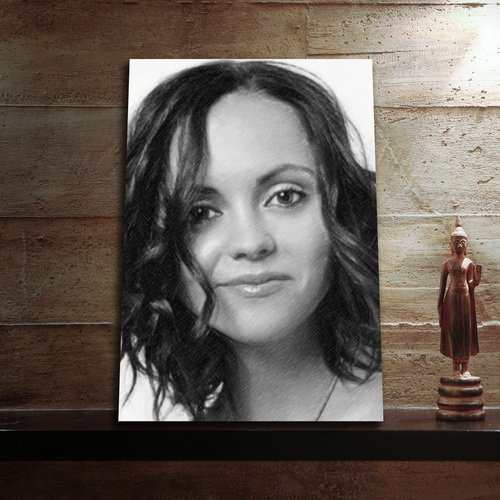 SEASONS CHRISTINA RICCI - Original Art Print (LARGE A3 - Signed by the Artist) #js003