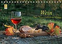 Wein - Reben, Wingerte und historische Weinkeller (Tischkalender 2022 DIN A5 quer): Herrliche Weinlandschaften, Historische Weinkeller, edle Weine (Monatskalender, 14 Seiten )