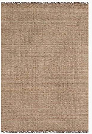 Acura Rugs Natural Jute Area Rug 9 X 13 Feet 108 W X 156 L In Natural Color With Fringed Ends Rectangle Home Kitchen