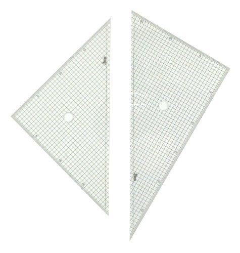 Too 三角定規 30cm 5mm 方眼