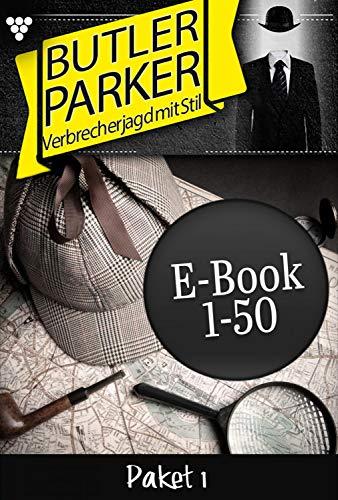 Butler Parker Paket 1 – Kriminalroman: E-Book 1-50