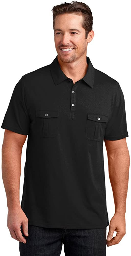 District Made Double Pocket Polo (DM333)