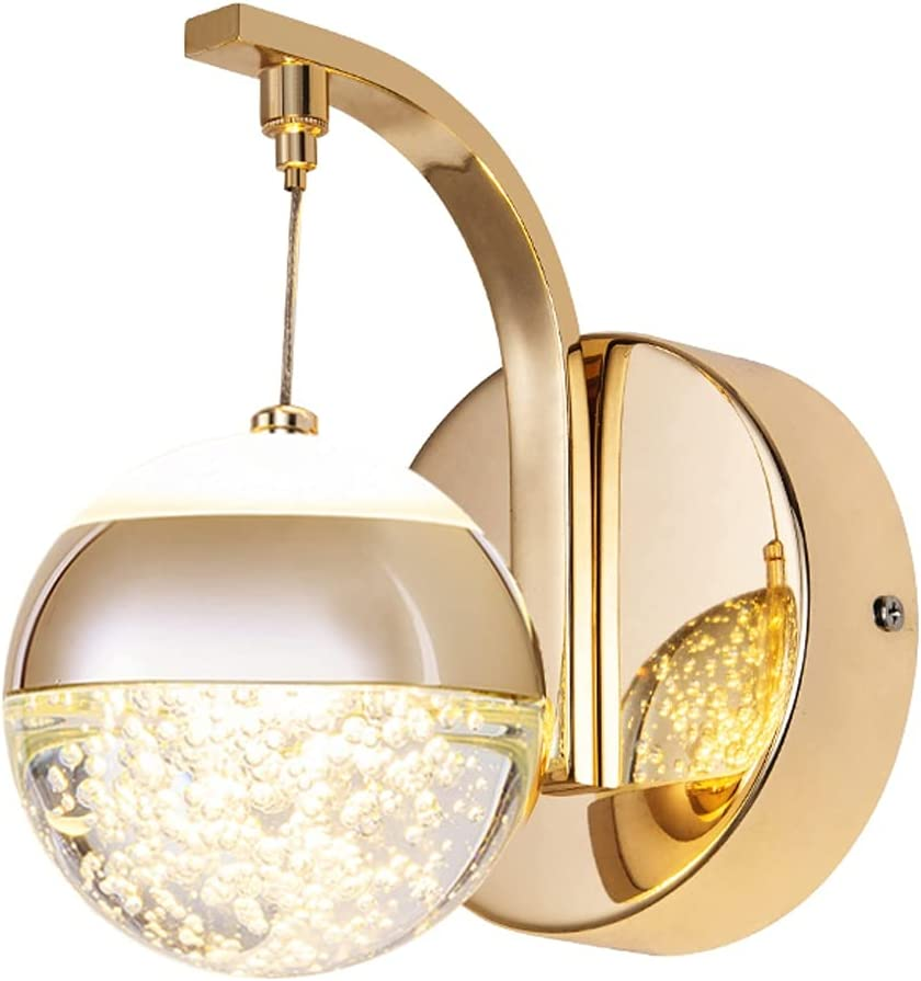 OMYLFQ Wall free shipping sconces LED Lamp Creative Nordic Crystal Modern Super beauty product restock quality top