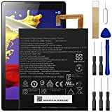 for Lenovo Lepad Tab A8-50 A5500 S8-50 TAB 3 Tab3 TB3-850F TB3-850M Replacement Battery L13D1P32 with Tools Adhesive