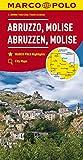Marco Polo Abruzzen - Molise 10: Wegenkaart 1:200 000