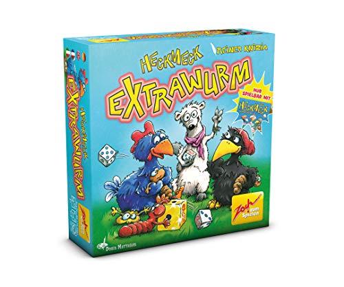 Zoch 601105081 - Heckmeck Extrawurm, das Erweiterungsset zum Würfelklassiker (nur spielbar mit Heckmeck am Bratwurmeck), ab 8 Jahren
