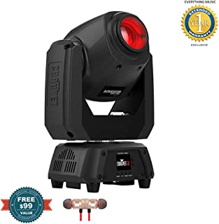 CHAUVET DJ Intimidator Spot 260 LED Moving Head Light Fixture includes Free Wireless Earbuds - Stereo Bluetooth In-ear and 1 Year Everything Music Extended Warranty