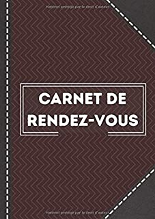Carnet de rendez-vous: Carnet de rendez-vous pour medecin | 52 semaines | 7 x 10 po | De 7h a 20h30 (French Edition)