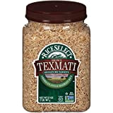 RiceSelect Texmati Brown Rice, Long Grain, Whole Grain, Gluten-Free, Non-GMO, 32 oz (Pack of 4 Jars)
