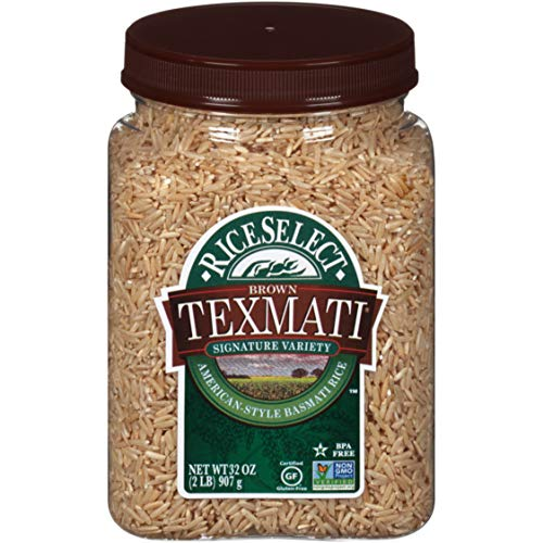 RiceSelect Texmati Brown Rice, 32-Ounce Jars, 4-Count
