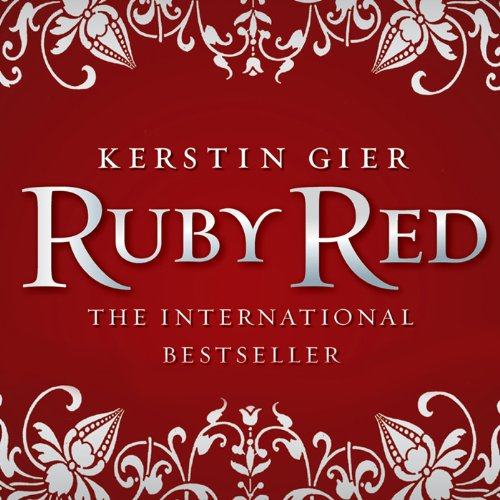 Ruby Red audiobook cover art