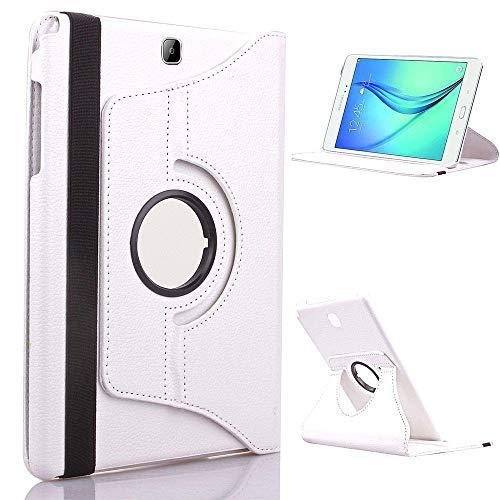 Per Xiaomi MiPad 2 3 MI Pad Due Tre MiPad2 MiPad3 PAD2 Pad2 Tablet Case 360 Staffa rotante Flip Sup Stand Pelle Cover-Per 360 bianco.