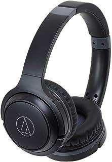 Audio-Technica ATH-S200BTBK Auriculares Color Negro, Bluetooth, Plegable, 10 x 23 x 26