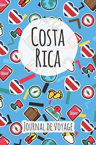 Journal de voyage Costa Rica: Planificateur de voyage I Carnet de route I Carnet à grille à points I Carnet de voyage I Journal de voyage I Journal de poche I Cadeau pour le routard