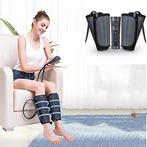 Massagegerät Beine Beinmassagegerät Mit 2 Modi Und 3 Luftkompression Intensitätsstufen Für Waden Und Füße Zur Linderung Wadenschmerzen Schwellungen Und Müde Beine