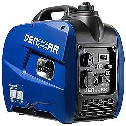 INNOVATIV: Modernste Inverter-Technologie, sauberer Strom für spannungssensible Verbraucher wie moderne Elektronik oder Elektrogeräte. Praktisch kombinierbar mit einem DENQBAR DQ-2000 und DQ-2100 um die Leistung zu steigern. KRAFTVOLL: Max. 2,1 kW Le...