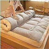 Colchón plegable del piso del futón, Futón plegable japonés colchón de colchones tatami espesor colchones topper futón...