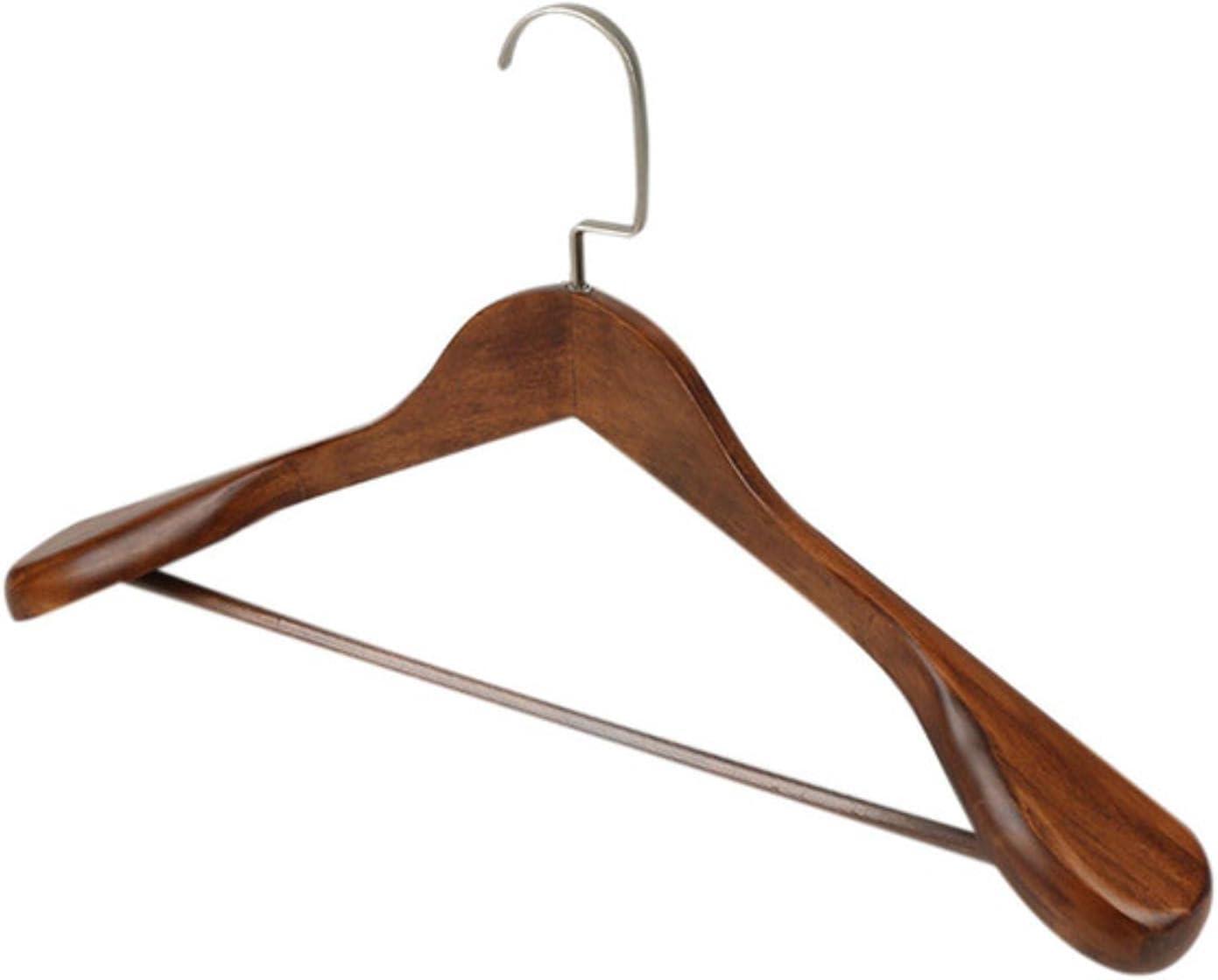 Max 60% OFFicial site OFF Lzjbs 1Pc Clothes Hanger High-Grade Wide Shoulder Wooden Ha Coat