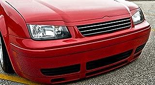 Headlight Cover Euro Upper Hood Trim Grill Spoiler Eyelid Eyebrow For VW Jetta MK4 4 INSTEAD SHOWS ONLINE: