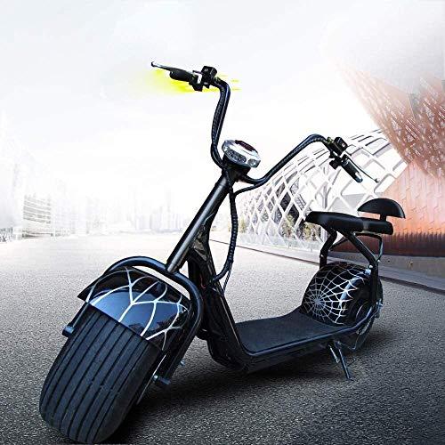 LAZNG Bicicletas eléctricas for Adultos, Bicicletas 1500W 95N.m for Hombre, 60V12A Bicicletas...
