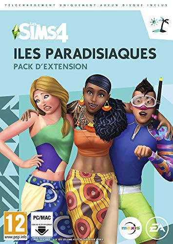 SIMS 4 ILES PARADISIAQUES CIAB – PC CD