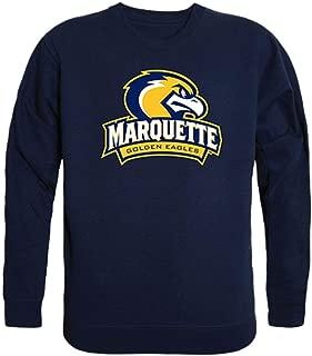 Marquette University Golden Eagles Crewneck Pullover Sweatshirt Sweater Navy
