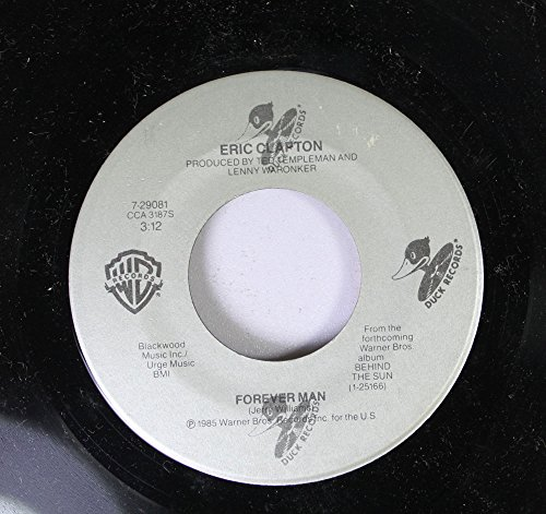 ERIC CLAPTON 45 RPM FOREVER MAN / TOO BAD