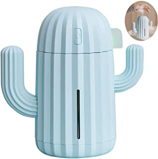 Home Usb Night Light Air Humidifier,Cactus Plant Air Purifier, Automatic Timing Function, With Night Light Function, Two-S...