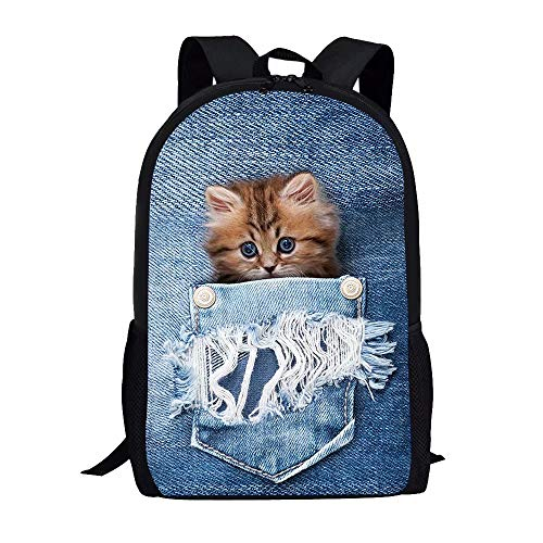 Kitty School Bag Backpack for Kids