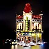 RTMX&kk Kit de luz LED para (Creator Expert Palace Cinema), Compatible con Lego 10232 Modelo de Bloques de Construcción (NO Incluido en el Modelo)