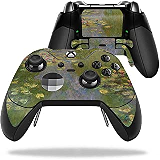 MightySkins Skin Compatible with Microsoft Xbox One Elite Controller - Water Lilies | Protective, Durable, and Unique Vinyl wrap Cover | Easy to Apply, Remove, and Change Styles | Made in The USA