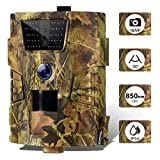 CAMVILD Trail Camera 16MP 1080P Ultralight Hunting Game Camera with Night Vision...