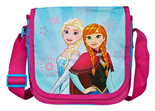 Undercover Kindergartentasche, Disney Frozen, Circa 21 x 22 x 8 Kinder-Sporttasche, 22 cm, Pink