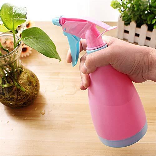 3 Pièces en Plastique Vaporiser Bouteilles Trigger pulvérisateur de Bouteilles vides for Le Jardinage Nettoyage 500ml (21x8.5cm) (Color : Pink, Size : 500ml)
