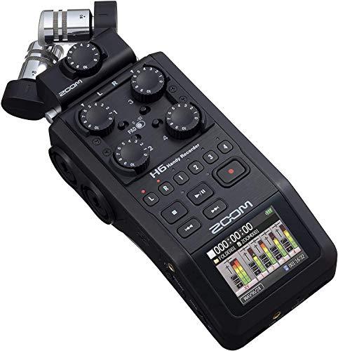Zoom H6 HANDY RECORDER BLACK