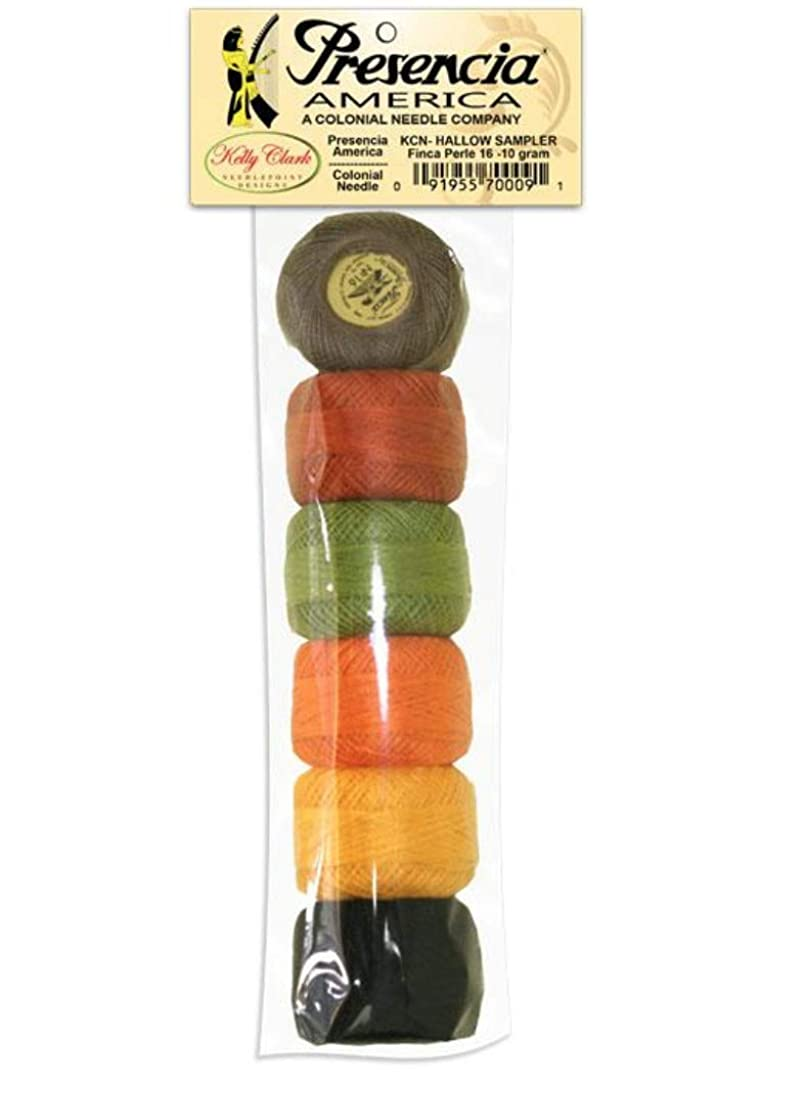 Presencia Pearle Finca Cotton Thread, Egyptian Cotton, Size 16 (10 Gram), Sampler Pack Halloween Collection, Fall Colors, Crochet, Embroidery, Quilting, Punch Needle, Needlepoint fbfa422751705355
