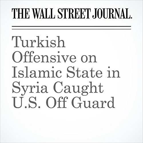 Turkish Offensive on Islamic State in Syria Caught U.S. Off Guard audiobook cover art