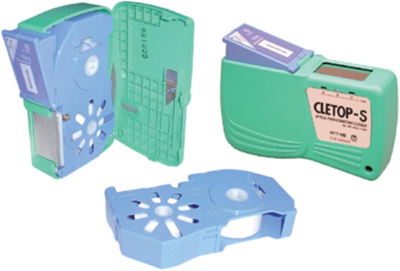 Dnges Reinigungskassette Cletop-S Typ A für LWL-Stecker (blau)