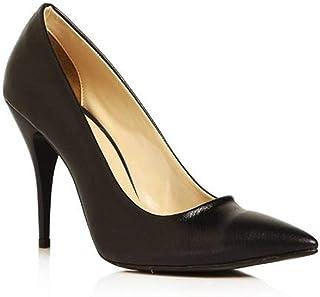 Kadın Topuklu Ayakkabı Stiletto Deri Vizon Ma-021