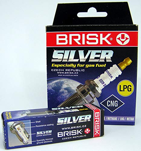 Brisk 1462 DR15YS-9 BRISK SILVER Zündkerze